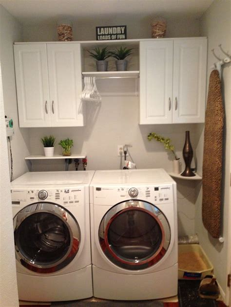 Laundry Room Setup Idea  For The Home Pinterest