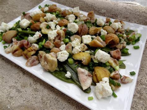 cuisiner pois gourmands salade de pois gourmands aux châtaignes la tendresse en