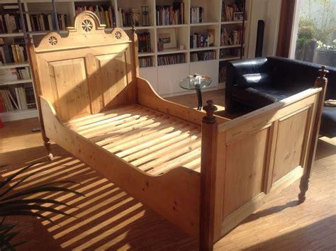altes bett kaufen 63740 bett altes bauernbett 100x190 antik holzbett vollholz kinderzimmer holzbett bett und