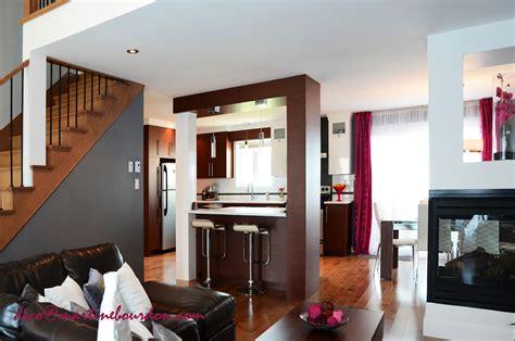 salon et cuisine aire ouverte decoration cuisine ouverte sur sejour
