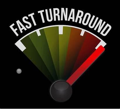 Turnaround Turn Around Business Company Action Printing