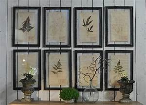 Framed, Pressed, Botanical, Artwork, With, Hand, Pressed, Specimens