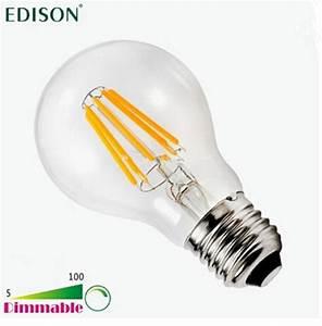 E27 Led 100w : new dimmable edison cob filament globe light e27 led 110 240v 4w 6w 8w led bulb lamp vs 60w 80w ~ Markanthonyermac.com Haus und Dekorationen