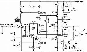 5000 Watts Amplifier Circuit Diagrams
