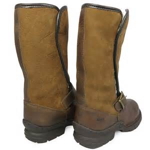womens boots for walking waterproof leather walking fur outdoor winter yard country boots size 3 8 ebay
