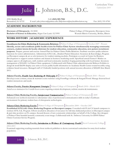 28 chiropractic receptionist resume how to start an