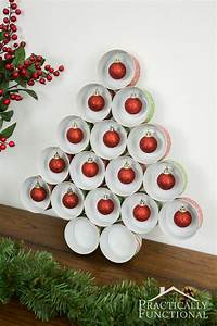 Recycled Tin Can Christmas Tree For Under $5