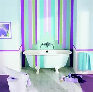 Quelle Peinture Pour Salle De Bain : peinture pour salle de bain peinture salle bain sur ~ Dailycaller-alerts.com Idées de Décoration