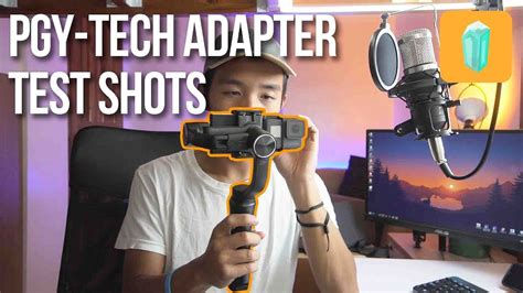 cheap gopro karma grip alternative pgy tech adapter zhiyun smooth  test shots youtube