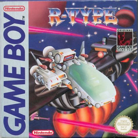 R Type 1991 Game Boy Box Cover Art Mobygames