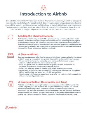 printable airbnb  letter sample fill