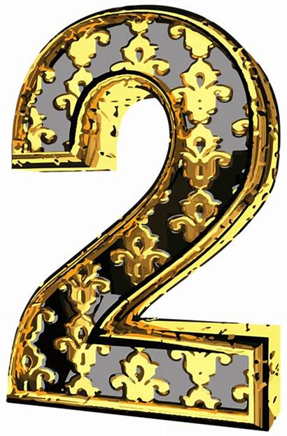 Number Clip Elegant Clipart Numbers Decorative Yopriceville
