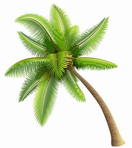 Green Palm Tree PNG Clipart | Planner Happiness ...
