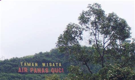 obyek wisata pemandian air panas guci  kabupaten tegal