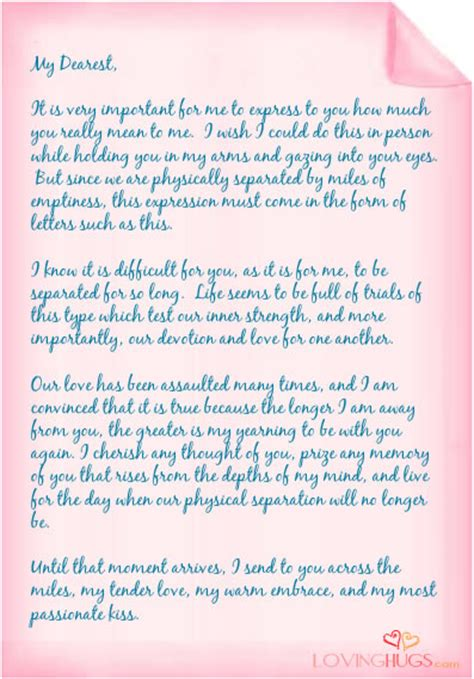 letters to the i loved pin best letter format on