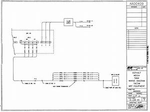 Asphalt Weight Tank Wiring Diagram