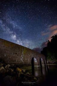Milky Way Night Sky Over Ocean