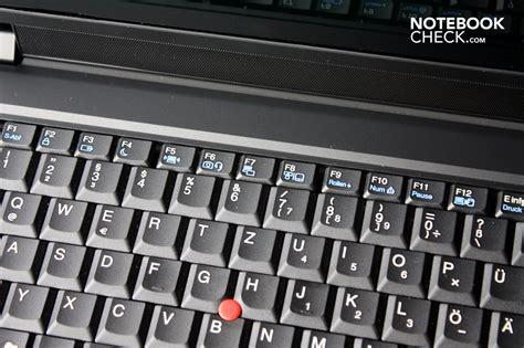 test lenovo thinkpad sl notebook notebookcheckcom tests