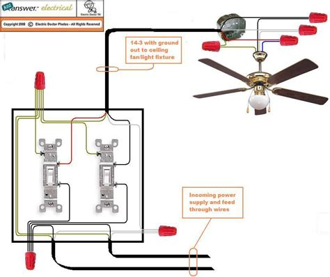 wiring a ceiling fan with 4 wires ceiling fan wiring