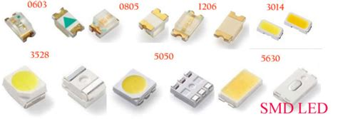 Yellow Color Led Diode 0805 Smd Chip Led