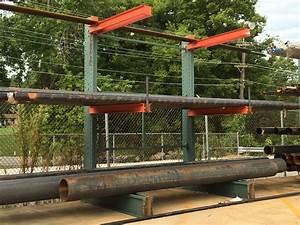 Bar Tubing Pipe Rack Cantilever Pipe Storage Racks