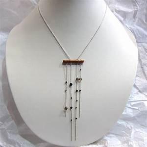 collier argent corail dore bijou de createur bijoux With créateur bijoux