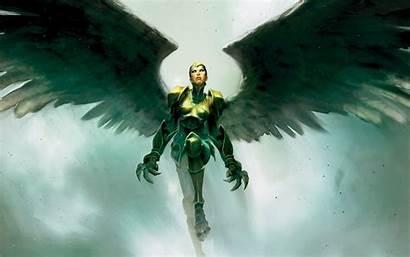 Angel Magic Gathering Fantasy Salvation Warrior Angels