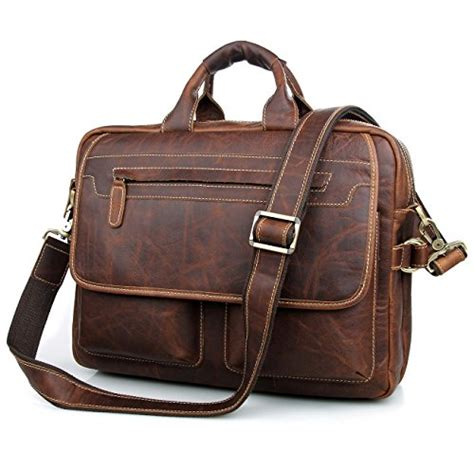 Cowhide Leather Briefcase by Texbo S Vintage Cowhide Leather Briefcase Fit 15 6