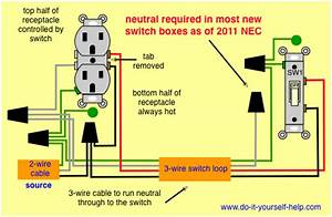 Home Electrical Wiring Switch