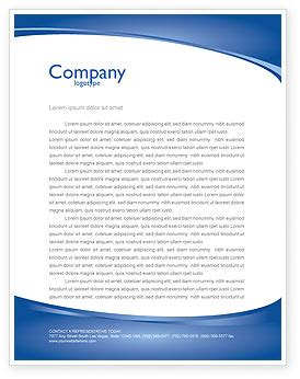 business environment letterhead template layout