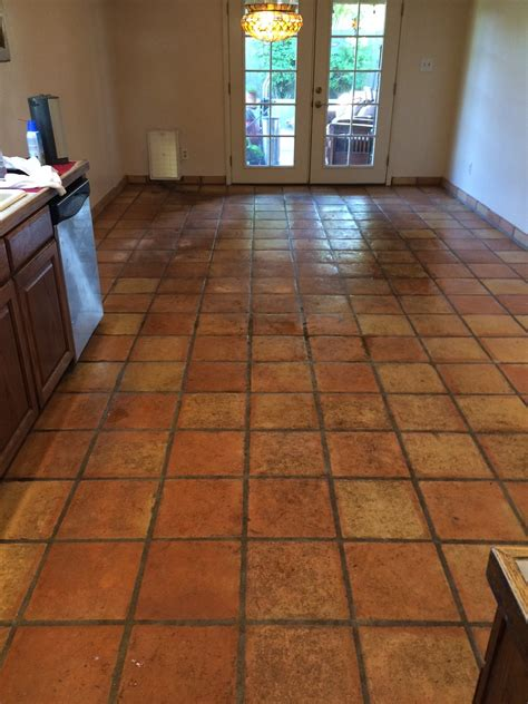 Tile On Tile by Mexican Tile Cleaning Desert Tile Grout Care