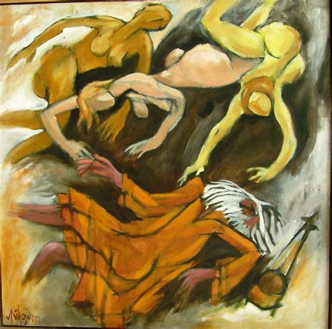 buy contemporary painting online 39 falling baul 39
