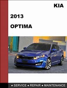 Kia Optima 2013 Factory Service Repair Manual Download