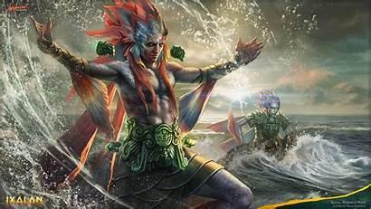 Merfolk Magic Gathering Warden Mtg Waves Ixalan