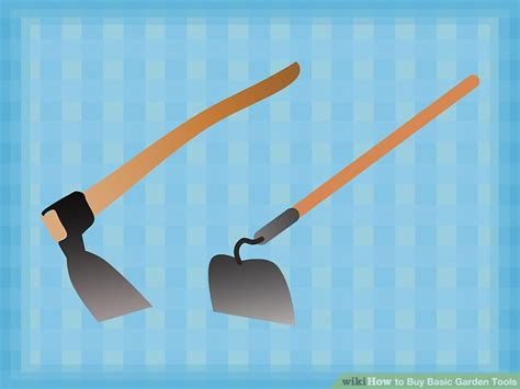 basic gardening tools how to buy basic garden tools 4 steps with pictures wikihow