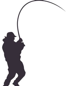 fisherman silhouette vector silhouette fishing png search silhouettes