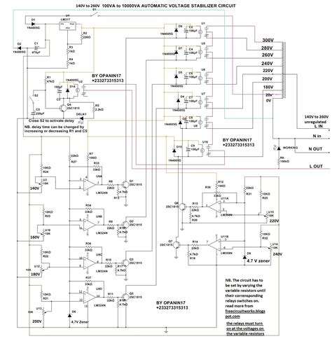 Power Stabilizer Circuit Many Circuits