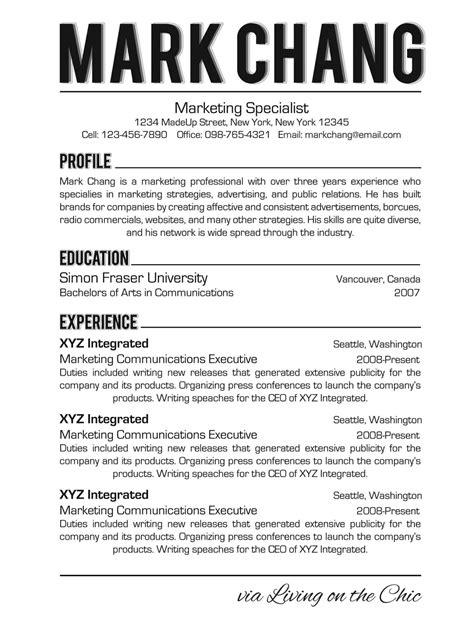 Font To Use In Resume by Resume Font Resume Fonts Mfacourses826 Web Fc2