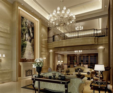 european home interiors villa interior ceiling units 3d house