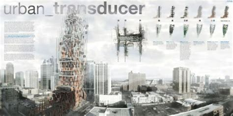 Urban Transducer Skyscraper gets powered by noise