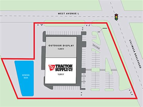 leased investment property  sale tractor supply