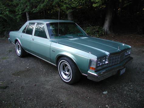 Dodge Diplomat For Sale by 1979 Dodge Diplomat Salon 4 Door 5 2l