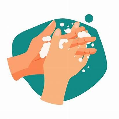 Wash Hands Handwashing Illustration Hand Way Vector