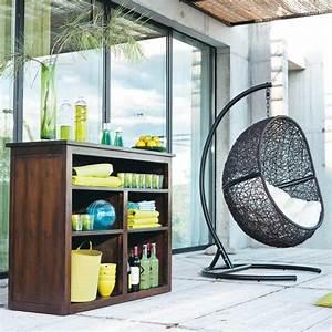 Fauteuil Cocon Suspendu : table et chaises de terrasse fauteuil cocon suspendu ~ Teatrodelosmanantiales.com Idées de Décoration