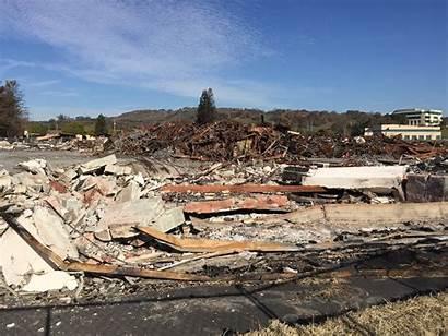 Debris Fire Tons Piles Kqed Sort Million