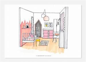 Coloriage Chambre Fille.Dessin Deco Chambre Dossier D Co Une Chambre Pour Enfant Dpb Agency