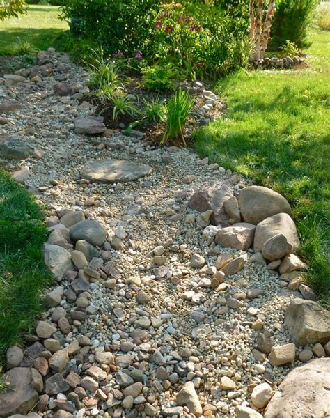 how to build a creek bed diy dry creek beds the garden glove