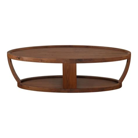Couchtisch Nussbaum Oval by Oval Coffee Table Rustic Walnut Products Moe S
