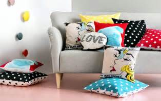 Colorful Sofa Pillows by Spice Sofa With Colorful Pillows Interior Design Ideas