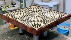 "Making a ""Butterfly"" 3D end grain cutting board - YouTube"